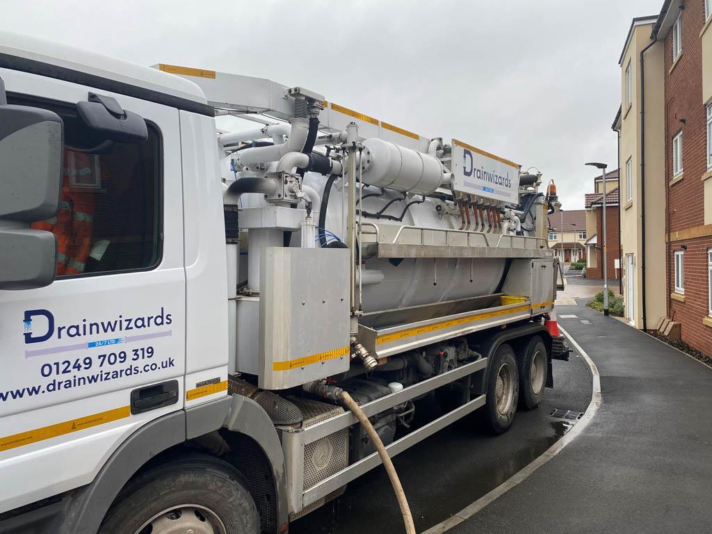 sewer maintenance in Chippenham